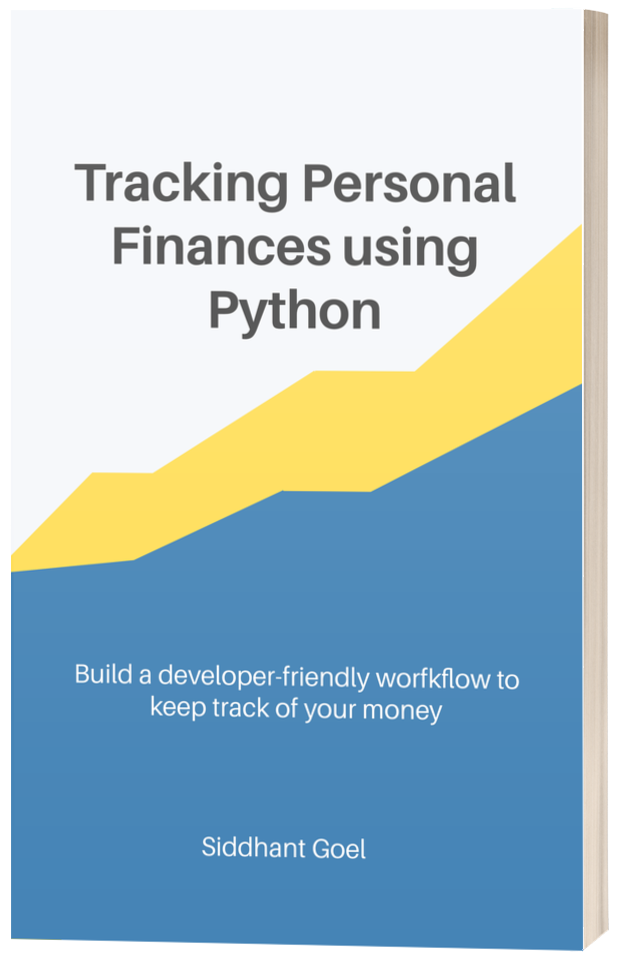 Managing Personal Finances using Python 🐍